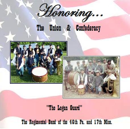 Honoring the Union and Confederacy CD Cover