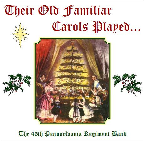 Their Old Familiar Carols Played CD Cover