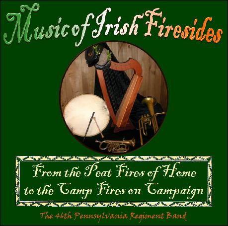 Music of Irish Firesides CD Cover